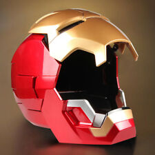 Collectable 1:1 Scale Wearable Open Close Iron Man MK7 Helmet Roan Toys Cosplay
