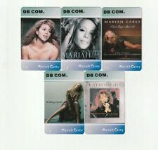 (5) Rare Mariah Carey Phone Cards