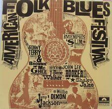 the original Américan folk blues festival : JOHN LEE HOOKER - MEMPHIS SLIM ...
