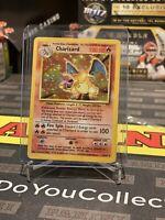 CHARIZARD BASE SET HOLO 4/102 POKEMON CARD VINTAGE UNLIMITED RARE 1999 TCG
