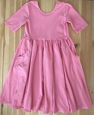HANNA ANDERSSON Pink Knit Twirl Dress Size 140 US 10