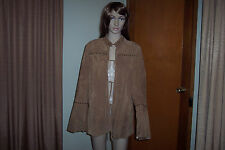 Vintage Ladies Suede Western Jacket Chi by Faichi Size XL