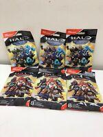 Mega Construx Halo Maverick y Warrior 6 Paquetes No Duplicados