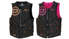O'Brien Traditional Euro Biolite Vest Ladies Jetski Wakeboard Waterski Kayak