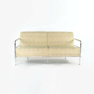1994 Gunilla Allard for Lammhults Sweden Cinema Settee Two Seater Sofa Fabric