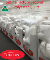 Tontine FACTORY SECOND Australian Made Polyester Summer Doona| Duvet| Quilt