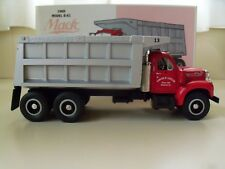 FIRST GEAR - CARLOS R. LEFFLER - 1960 MACK MODEL B-61 DUMP TRUCK - 1/34 DIECAST