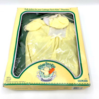 Vintage 1984 Cabbage Patch Kids Preemie Clothing Set Yellow White Lace NRFB