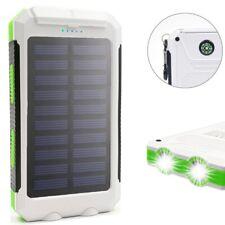 900000mAh Waterproof 2 USB Portable Solar Battery Charger Solar Power Bank WTG