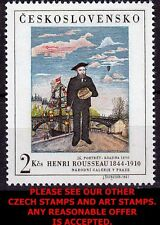 CZECHOSLOVAKIA 1967 HENRI ROUSSEAU PAINTING  MNH  (WE HAVE M/S ALSO!!!)