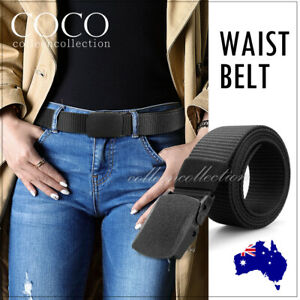 Outdoor Nylon Belt Sport Military Tactical Waistband Canva Web Belt Father's Day