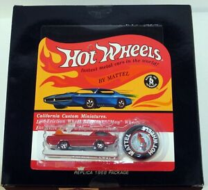 Hot Wheels RLC Original 16 Replica 1968 Package Dodge Deora Concept OPEN BOX