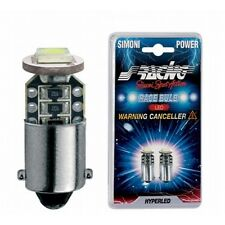 HML/22W Kit 2 lampadine Bax9s - Warning led 1  simoni racing