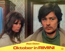 Oktober in Rimini ORIGINAL Aushangfoto Alain Delon / Alida Valli