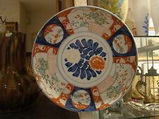 """En porcelaine du Japon """" Imari""""  , plat ancien ,diamètre 31,3 cm"""