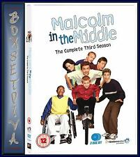 MALCOLM IN THE MIDDLE - COMPLETE SERIES 3  *BRAND NEW DVD *
