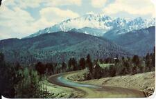View of Pikes Peak, Colorado Postcard