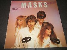 NEW BEGINNINGS Masks LP UK 1982 Folk, World & Country POP ROCK