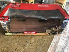 2001 Limited Edition GI Joe WW2 Willys Jeep 1/6 EMPTY BOX ONLY