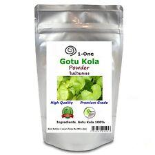 Gotu Kola Powder 1 KG Herb Organic Pure Organic Thailand  1,000 grams