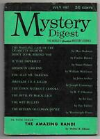 Mystery Digest - July 1957, Vol. 1, #2 (Pulp, Fredric Brown, Ed Lacy, McGivern)