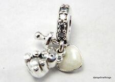 1e34e624c ... bracelets 0be00 dc15c; sweden new authentic pandora silver charm baby  treasures 792100cz 022e2 6f833
