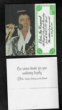 1977 Elvis Presley In Concert Reservation Certificate RCA Records