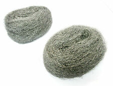 Wire Wool Steel Wire Mini Wool Pads For Rust & Fine Sanding (2 Pack) New DC075