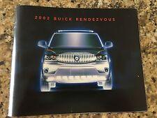 2002 Buick RENDEZVOUS 44-page Original Dealer Brochure