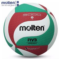 Molten VSM5000 Volleyball Ball Größe 5 weichem PU Leder Indoor Outdoor Spiel