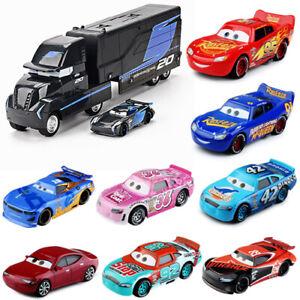 Cars1/2/3 Lightning McQueen Mattel Disney Pixar Cars 1:55 Diecast Model Car Toys