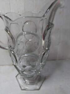 Caraffa vintage an 50 in cristallo di boemia alta circa 25 cm