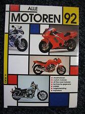 de Alk Book Alle Motoren 1992 A. Rijks (Nederlands) #877