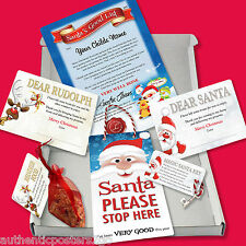 SANTA CHRISTMAS EVE BOX with Personalised Certificate TOP QUALITY A5 (21x15cm)