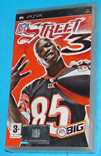 NFL Street 3 - Sony PSP - PAL New Nuovo Sealed