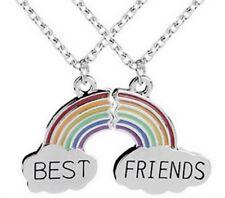2 Collares Mejores amigos Arc-en-Ciel de separar, Mejores amigos