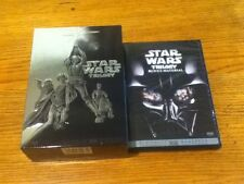 Star Wars Trilogy EMPTY BOX - Widescreen DVD CASE and Star Wars Bonus Material