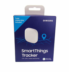 "Samsung Water-Resistant GPS SmartThings Tracker w/ Wi-Fi & ""SOS Alert"", White"