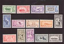 FALKLAND ISLANDS 1952 Definitive set Unmounted MINT FRESH COLOURS