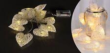 Holiday Lights papierherzen Light Chain Deco Christmas Lighting Heart Paper
