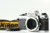 [Near Mint] Nikon FM2N New FM2 Silver Late Model 35mm SLR Film Camera JAPAN 709