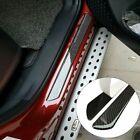 Parts Accessories Carbon Fiber 5d Stickers Car Door Sill Protector 4x Universal