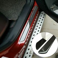 Parts Accessories Carbon Fiber 5d Stickers Car Door Sill Protector 4x Universal Fits Isuzu
