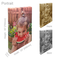 Photo Canvas Print Personalised Wall Art Framed Printed Picture Hanging Artwork