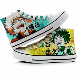 Anime My Hero Academia Canvas Casual Sneakers Shoes Unisex Cosplay Lolita#7867