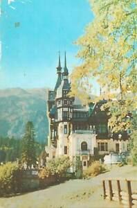 Postcard Romania Sinaia Peles castle museum