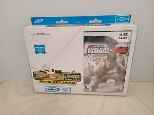 INTEC Wii BASEBALL BAT BUNDLE GAME INCLUDED
