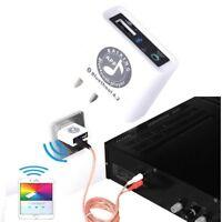 AC110~220V Bluetooth 4.2 APP Control Audio Receiver Stereo Sound U disk Player