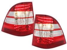 Fanali posteriori LED Mercedes Benz W163 M-Klasse  red/crystal