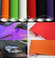 "12"" x 60"" - Hot Car Matte Flash Sparkle Glitter Wrap Vinyl Film Sticker Decal"